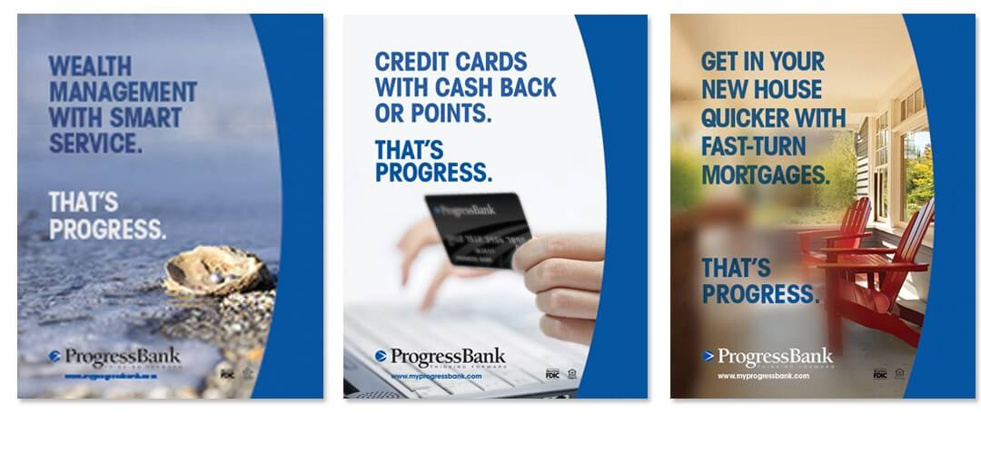 Progress Bank Print Design Case Study
