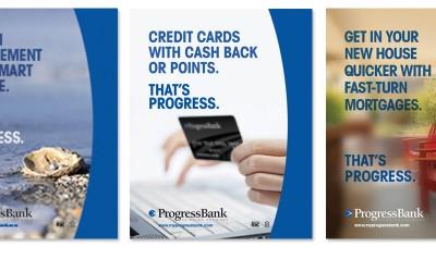Progress Bank Print Design Case Study