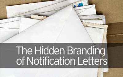 The Hidden Branding of Notification Letters