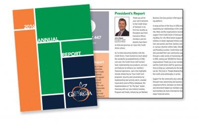 Credit Union of Georgia Annual Report Case Study