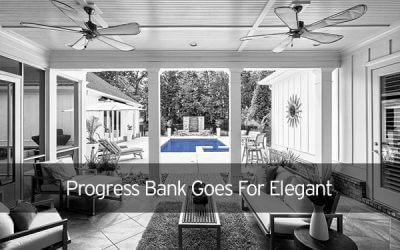 Progress Bank Goes For Elegant Imagery