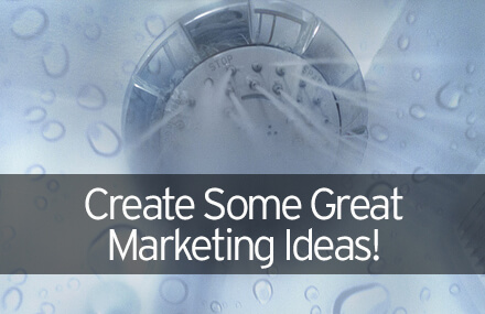 Create Some Great Marketing Ideas!