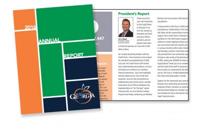 Credit Union of Georgia Annual Report Case Study