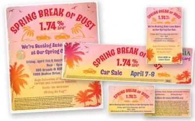 Credit Union of Georgia Spring Break Car Sale