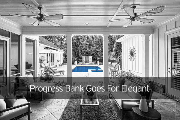 Progress Bank Goes For Elegant Imagery