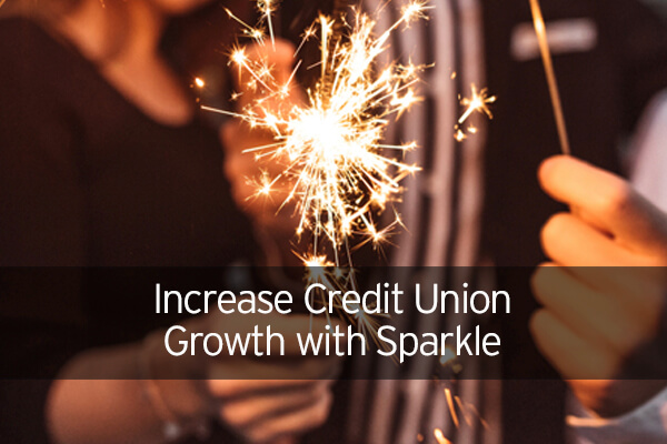 Increase Credit Union Growth With Sparkle!