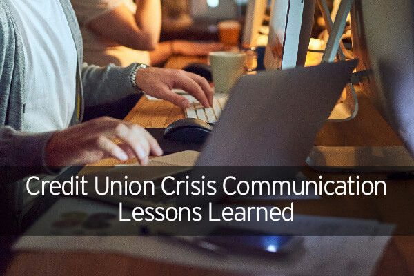 credit union crisis communications