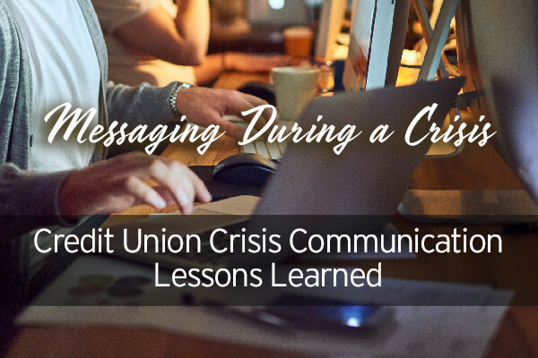 Messaging During a Crisis