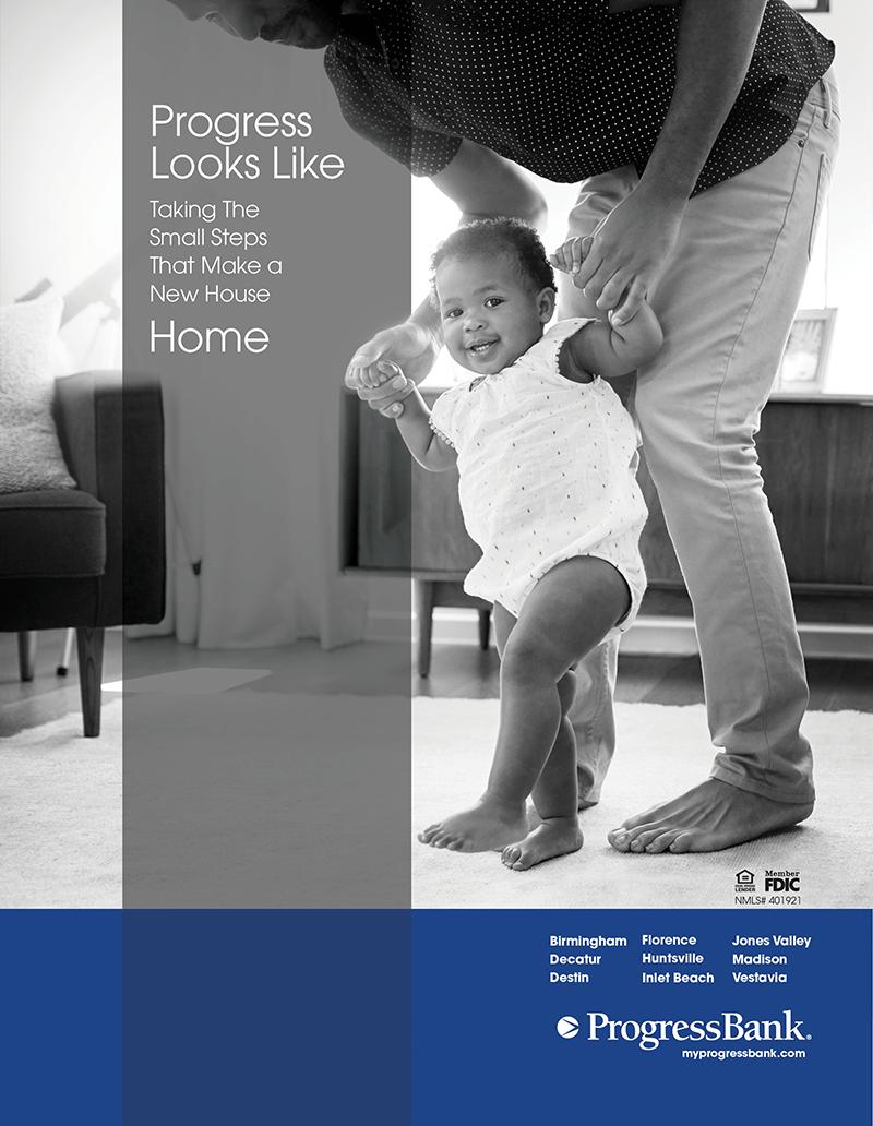 Progress Bank Ad Design